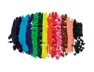 Crushed Crayons by sharadhaksar