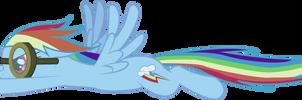 Rainbow Dash :: Into the Tornado