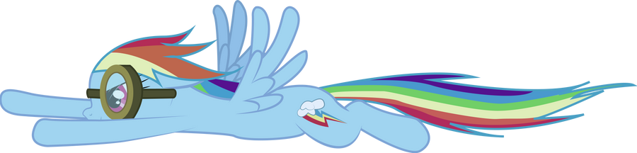 Rainbow Dash :: Into the Tornado by CobaltWinterborn