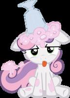 Sweetie Belle: Ice Cream on Head