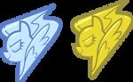 Wing Pony Badge