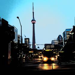 Toronto Downtown Bus Terminal by CobaltWinterborn