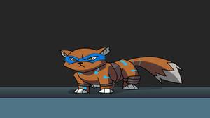 Leonardo as a Fox by CobaltWinterborn