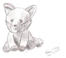 TA - Fox Plush Doll by CobaltWinterborn