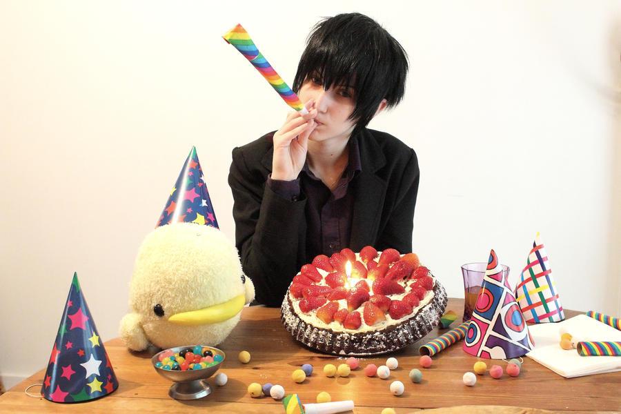Happy Birthday Hibari by Black--Deamon
