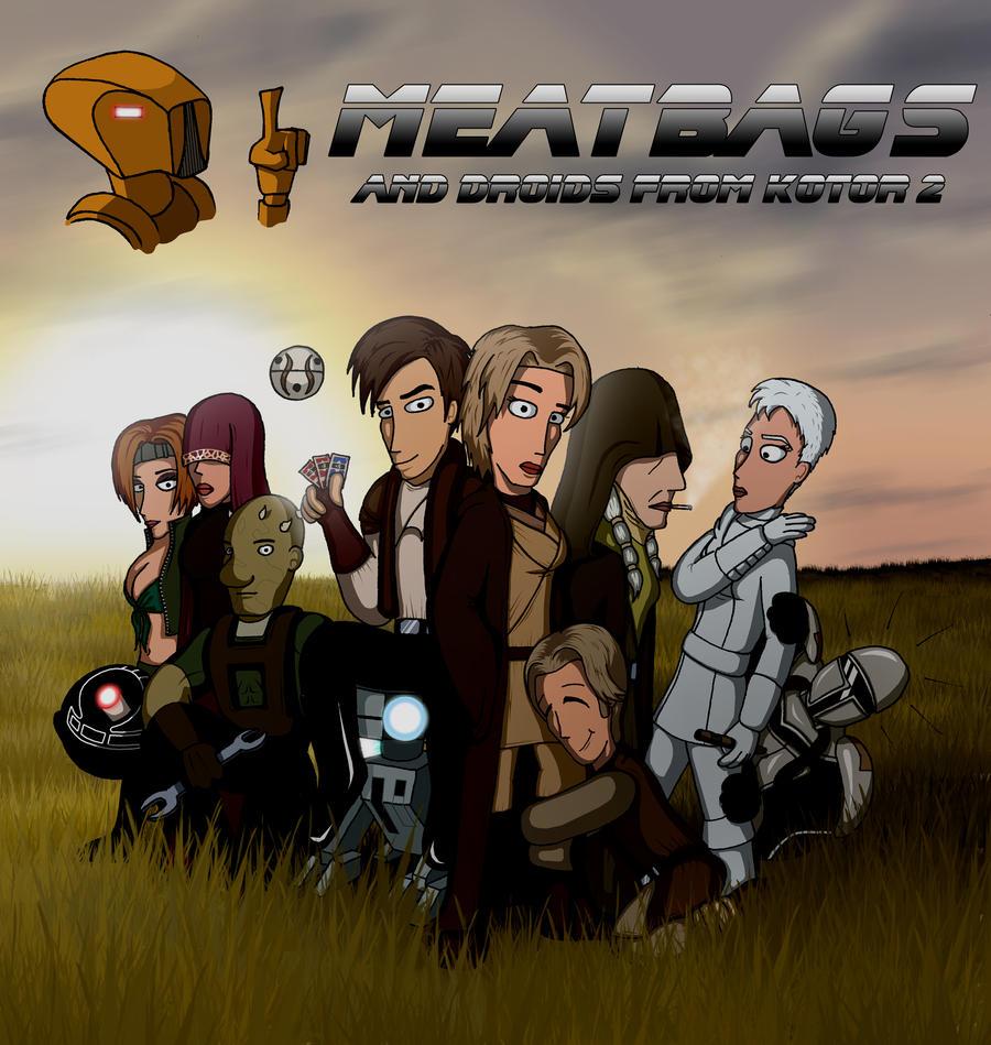KOTOR 2 heroes by Feinobi