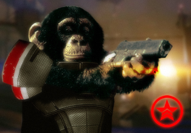 Commander Chimp by Feinobi