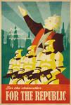 Palpatine's propaganda poster