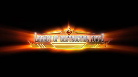 Legacy of Destruction Force logo by Feinobi