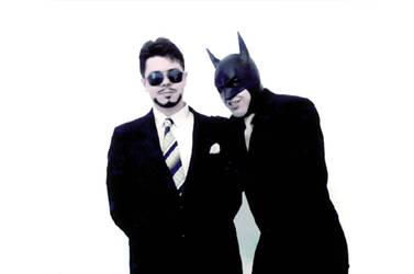 Tony and Bruce by Feinobi