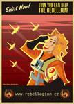 Rebellion's propaganda poster