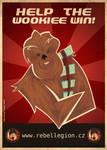Wookiee propaganda poster