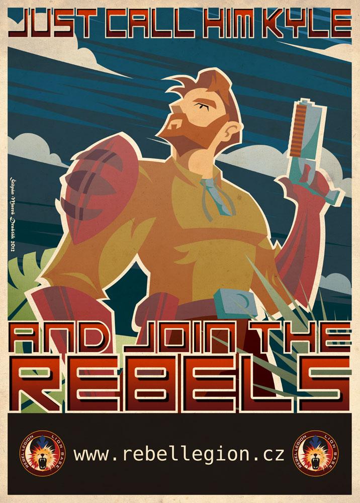 Katarn's propaganda poster by Feinobi