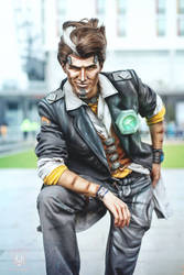 Handsome Jack cosplay by Feinobi
