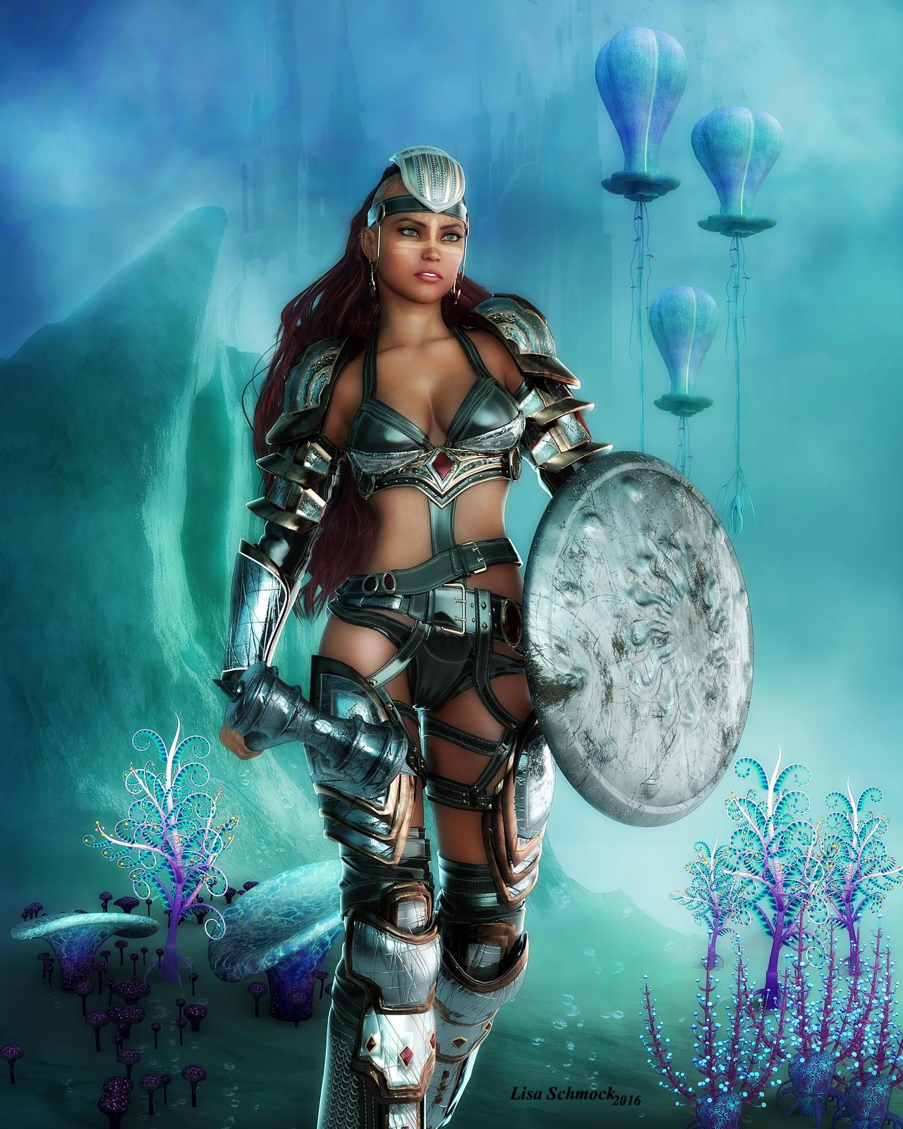 Daz3d poser legend for grissel fantasy armor : liasmudal
