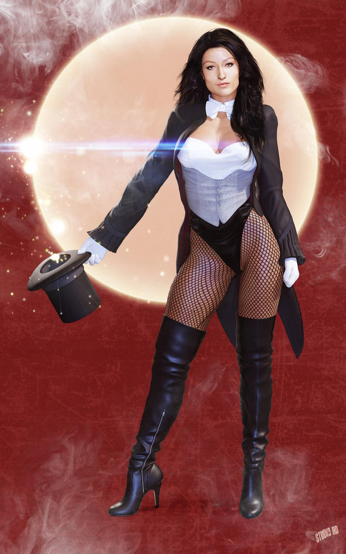 zatanna  commission by artdude41