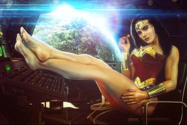 Wonder Woman by artdude41