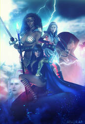 Carella the sorceress  cover art by artdude41