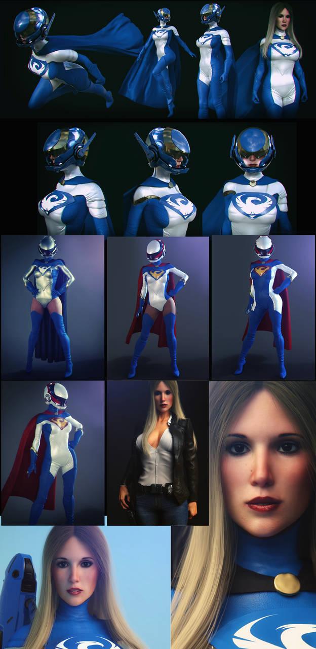 white phoenix 2019 costume test