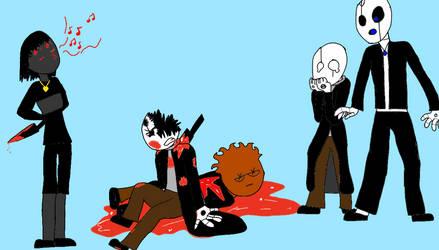 Draw the squad: Murder