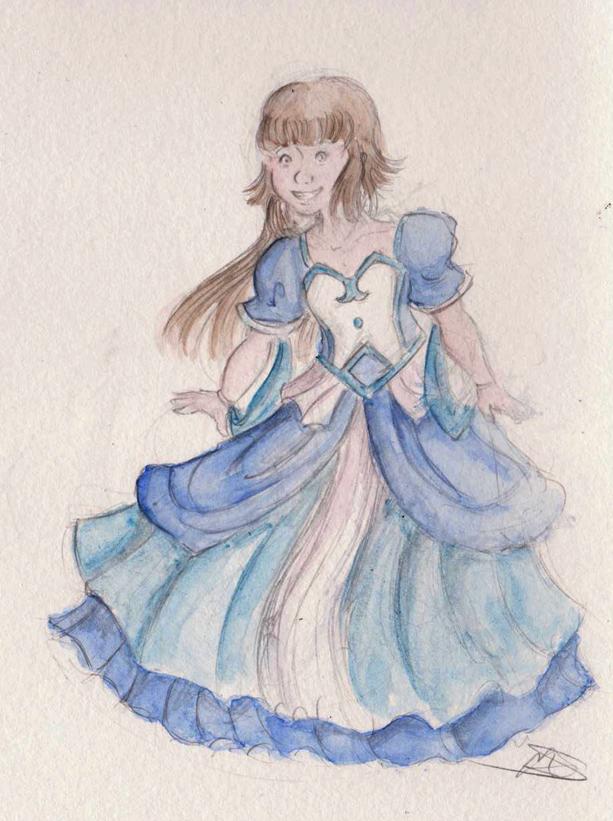 [Fanart] Like a princess by Tenedu44