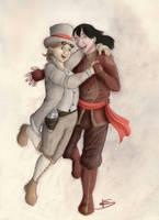 [OC] Maya and Rin by Tenedu44