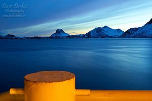 Harbour View - Lofoten by Dave-Derbis