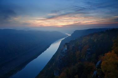 Bastei Autumn by Dave-Derbis