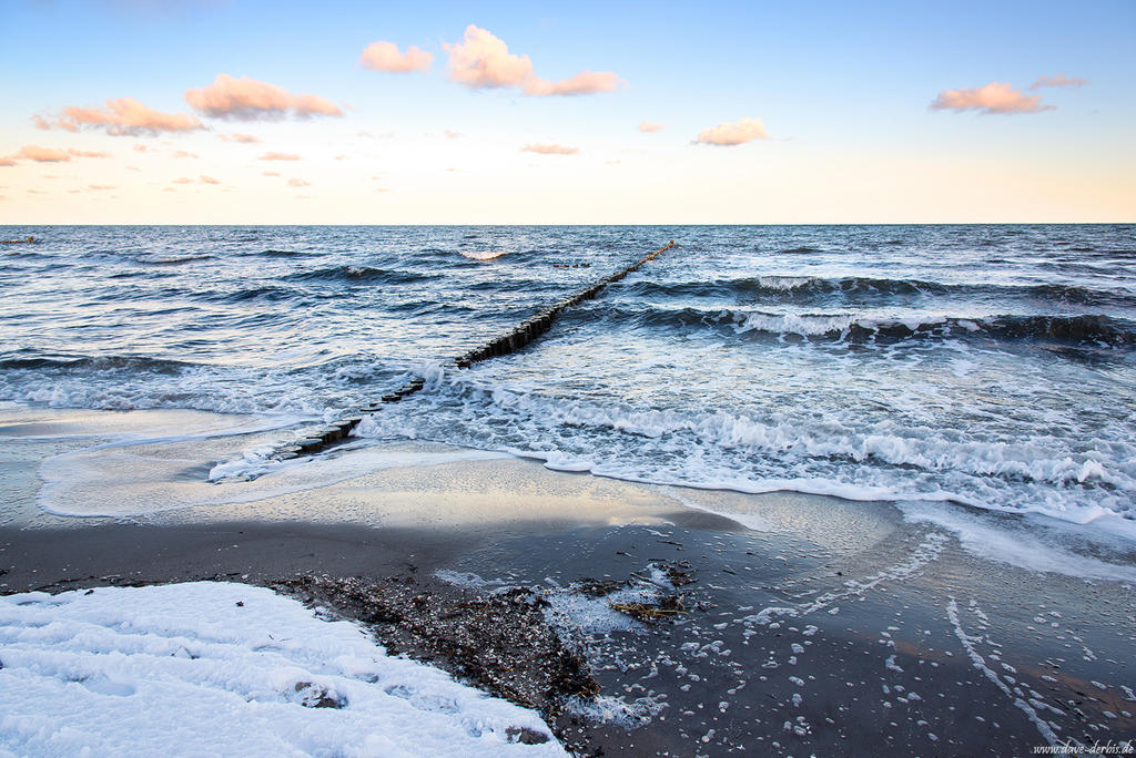 Baltic Sea Winter by Dave-Derbis
