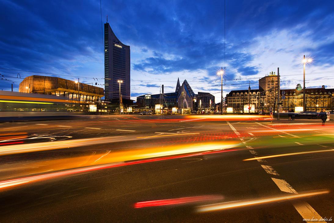 Augustusplatz Leipzig by Dave-Derbis