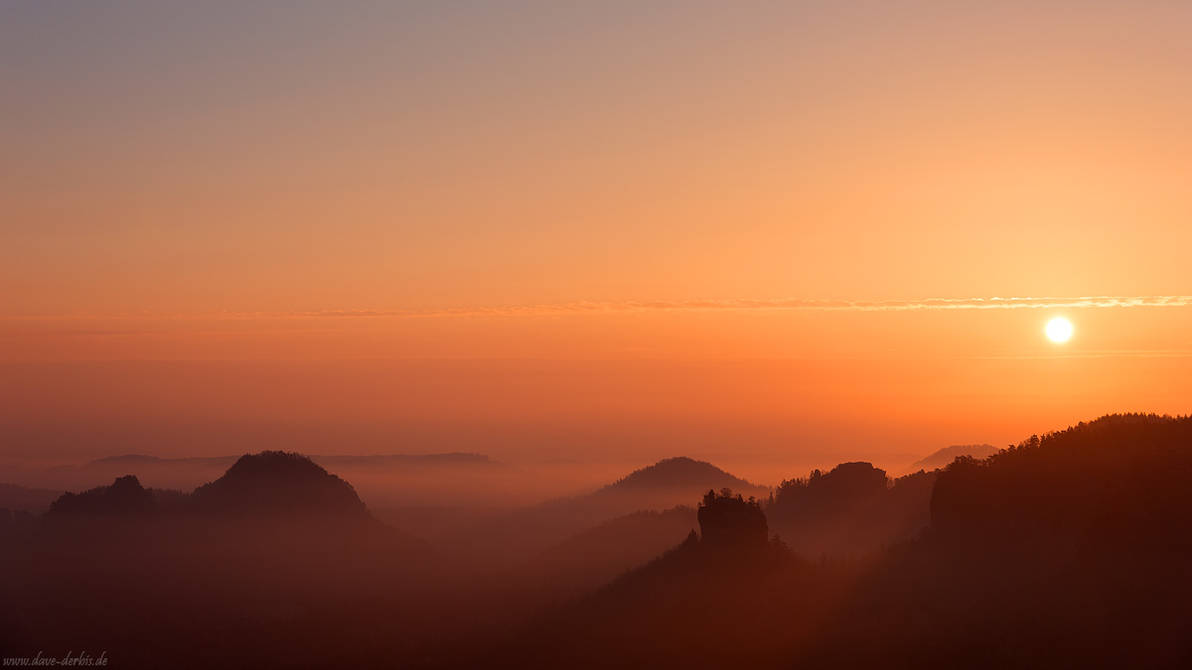 Zschand Morning Pano by Dave-Derbis