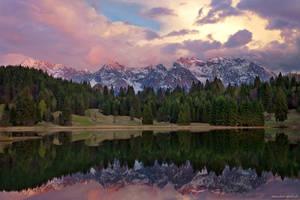 Geroldsee Reflection by Dave-Derbis