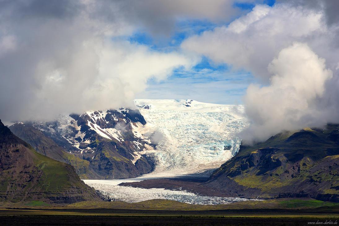 Glacier Stream by Dave-Derbis