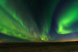 Dancing Northern Lights by Dave-Derbis