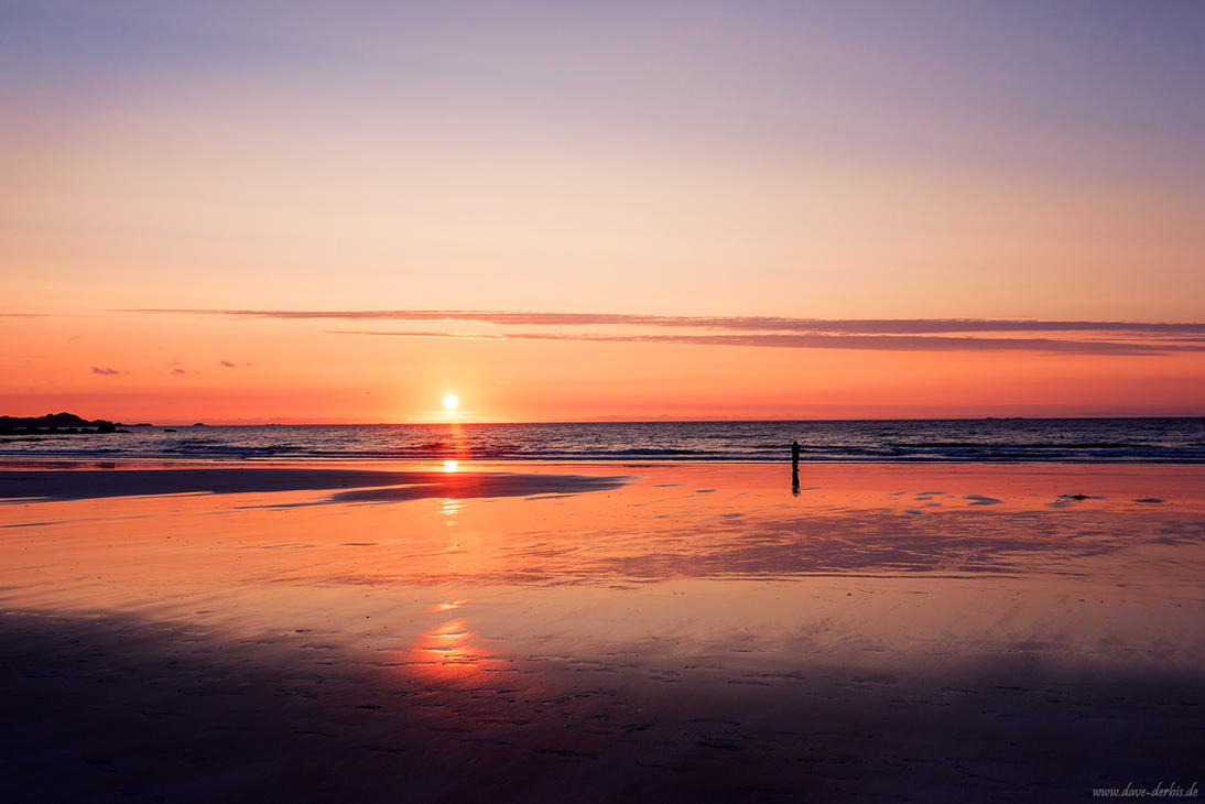 Lonely at Sunset by Dave-Derbis