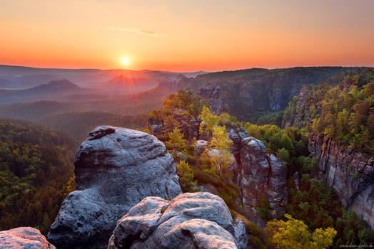 Heringstein Sunrise by Dave-Derbis