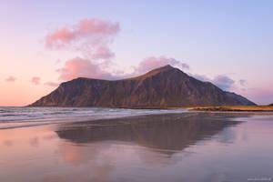 Skagsanden Sunset Reflection by Dave-Derbis
