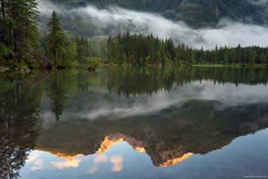 Reflection Mountain by Dave-Derbis