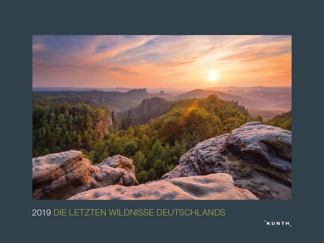 Wildnisse Deutschlands Kalendercover 2019 by Dave-Derbis