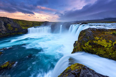 Waterfall of the Gods by Dave-Derbis