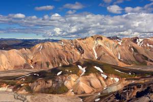 Mountains of Landmannalaugar II by Dave-Derbis
