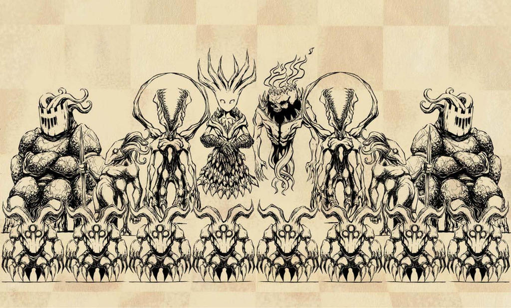 Monster Chess by Morbidmic