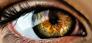 Digital Drawing of an eye