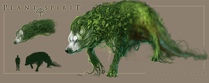 The Plant Spirit by AlectorFencer