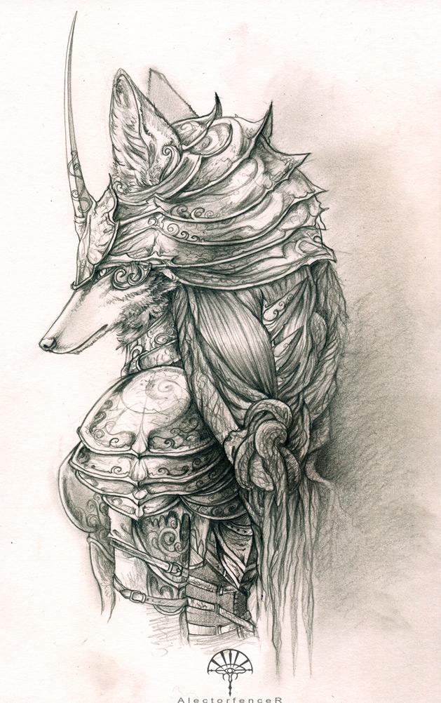 Myre - the fox warrior