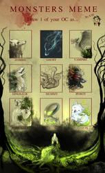 Monsters Meme - Plant Spirit by AlectorFencer