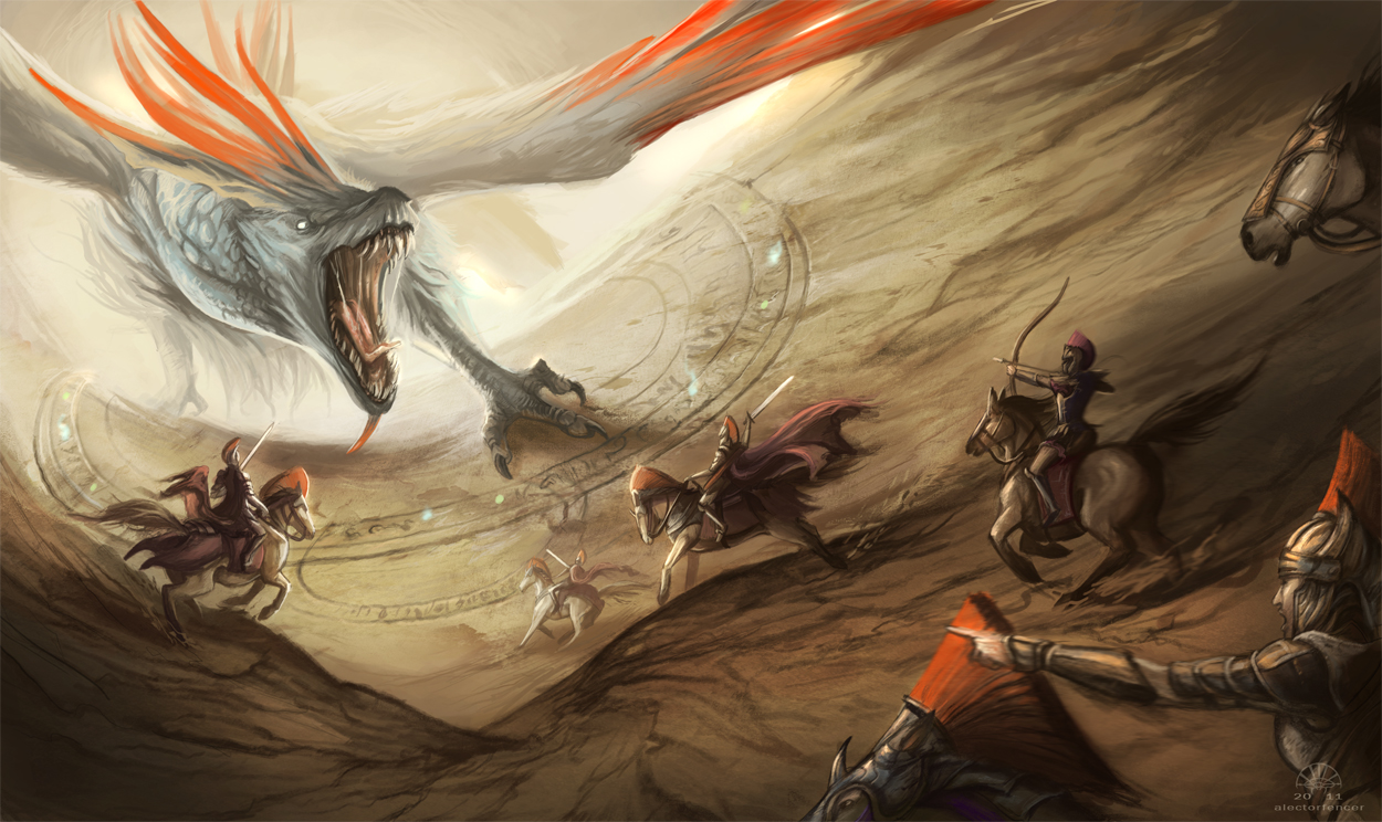 Attack of the Brood Mother by AlectorFencer