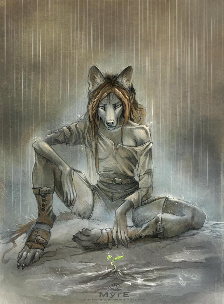 Rain by AlectorFencer