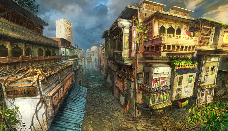Harkalla District by AlectorFencer