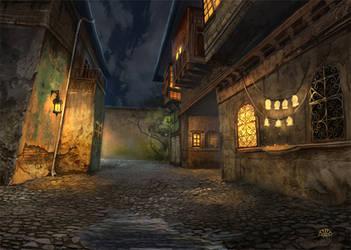 Red Lantern - Harkalla District II by AlectorFencer